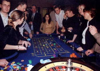 Roulette Hire and Sales